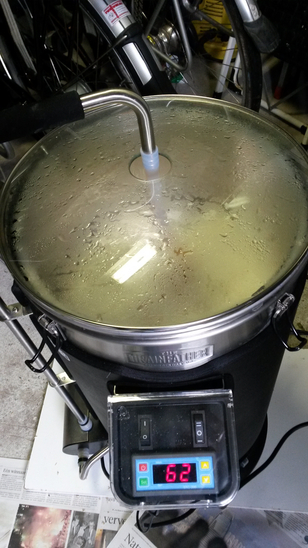 Grainfather in bedrijf